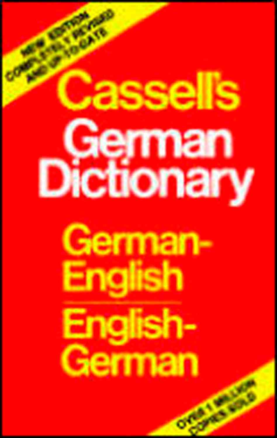Cassell's German-English English-German Dictionary By Cassell